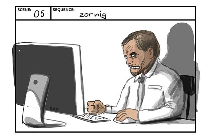 Storyboard - Revolutionär