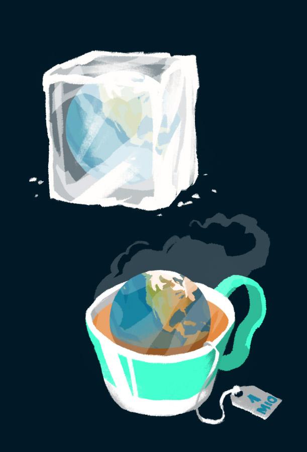 Kälte- und Hitzephasen der Erde