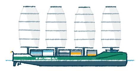 Frachtsegler Ecoliner