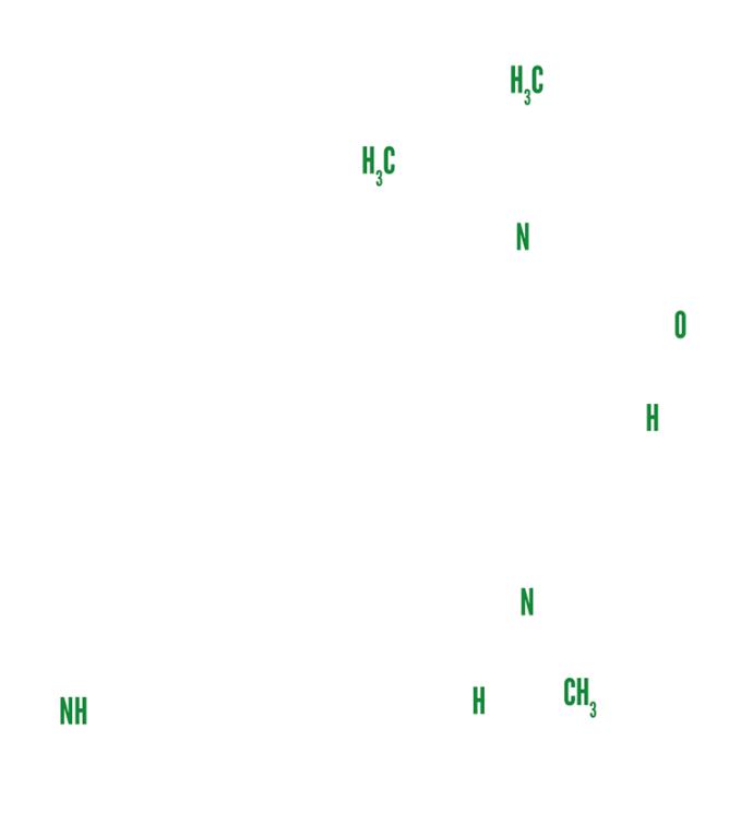 LSD-Molekül