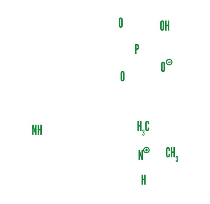 Psilocybin-Molekül